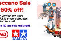 Meccano and Tamiya Sale