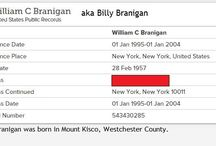 Billy Branigan 28/02-1957 / Laura's little brother Billy was born Feb 28, 1957 in Mount Kisco. This is about him, though he has become a key person in Laura's timeline.