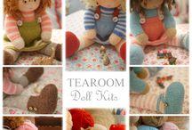 TEAROOM Doll Kits / maryjanestearoom.com
