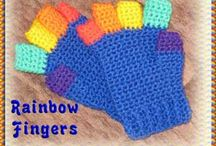 Crochet Gloves/Mittens / by Sarah Stockton
