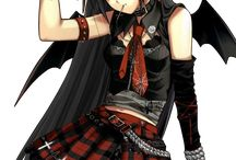 Anime (Goth - Emo)