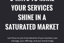 Clients + Service Packages / Tips for creative entrepreneurs to craft signature service packages that bring in more clients or customers to their online business.