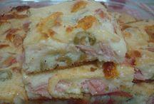 Torta de frango presunto...