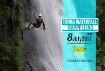 Torna Waterfall Rappelling