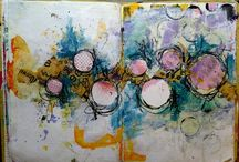 Art Journal inspiration / Looking for art journal inspiration? Check out these beautiful art journal pages