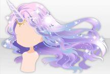 Anime Hair Base