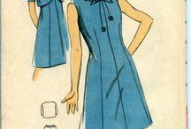 Vintage dress patterns free / Free vintage sewing patterns (retro), 1950s -1960s