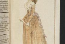 jacobins 1793-1795 robes / suknie czasów jakobinów 1793-1795