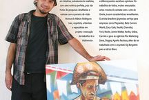 Eduardo Kobra - Brazilian Artist