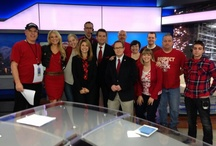 KSL Go Red for Women's Heart Disease Awareness / To support women's heart disease awareness we wore red on February 1, 2013. / by KSL News