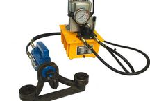 rebar bender machine by hydraulic power