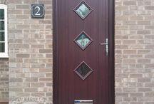 Solidor - Rosewood Timber Composite Doors /  Solidor Timber Composite Doors #compositedoors #compositedoors #solidorcompositedoor #timbercompositedoors