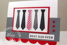 Stampin Up Tie stamps