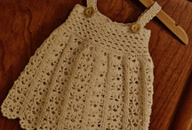 crocheted baby dresses / by Lolita