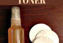 Facial and toner