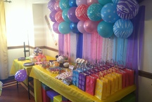 Lego themed girl party
