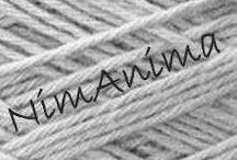 NimAnima / Handmade crochet bags, baskets, scarfs - infinity scarfs, fingerless gloves, purses.
