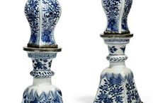 Blue and white China ,delft ware / by wendy whitter