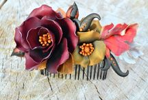 Hair Accessories by Innette / Decorate your hair with one-of-a-kind accessories made from polymer clay.