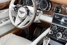 Luxury cars / Metal with wheels.