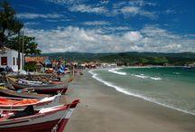 As Praias de Garopaba - SC / As belezas de Garopaba! Praia da Silveira, Ferrugem, Barrinha, Ouvidor, Siriú......