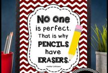 Posters for Elementary Classroom Decor / Here you will find printable decorations for elementary or high school teacher classrooms. The bright and colorful printable signs and posters feature motivational and inspirational quotes, class rules, encouragement, teacher quotes and more. They are great gift ideas for kindergarten, 1st, 2nd, 3rd, 4th, 5th, 6th, 7th, 8th, middle school, high school, ESL and special education teachers.
