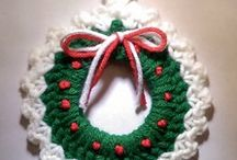 Christmas knits and crochet