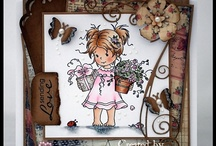 Whimsy stamps / by Ge-We Hobby