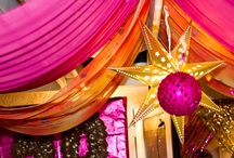 Milestone Birthday - Bollywood Theme / A Bollywood theme is a popular milestone birthday party theme. Bright colors, a bit of sparkle, Indian food, and dancing are the order of the day. We've done this theme for 40th and 50th birthdays. Check out some ideas and send us yours!