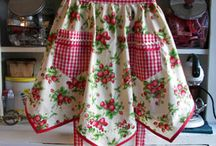 Vintage Aprons <3 / by Jessica Duvall