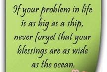Remember Gods blessings
