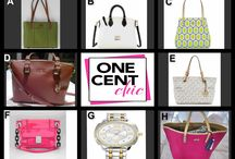 DESIGNER FASHIONS GALORE / Great Choice Items Thursday April 24 at 10 PM ET at OneCentChic