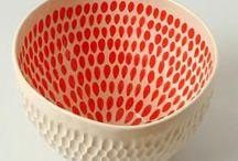 Papier maché bowls