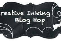 Creative Inking Blog Hop / Creations from members of the Creative Inking group.