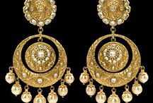earings,jhoomar,mangtikka,studs / I have a passion for the old...antique...& I wish the new generation will wear & patronise old authentic designs / by ethnic impulse