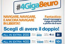 Promo Tre - Estate 2015 / #promozioni #treitalia #telefonia #4giga8euro