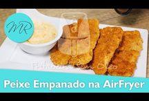 Bife à Milanesa / Empanado na AirFryer - Fritadeira sem óleo.