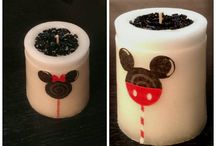 Scented Love / Scented Unique Handmade Candles