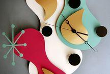 CLOCKS & RADIO'S / by Sue Davis