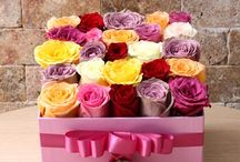 Flowers In Box | Kutuda Çiçek / Aşkınızı anlatacak en özel kutuda çiçek modellerimiz ile siz ve sevdiklerinize en harika tasarımları sunuyoruz.