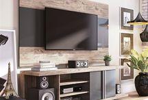 TV-Wandpaneel
