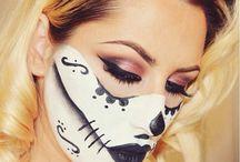 Halloween makeup / by Jasmine Brock