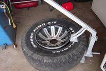 démonté pneus
