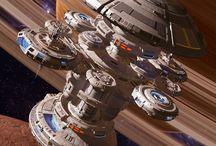 Statki kosmiczne / Star Trek, Star Wars, EVE Online, Mass Efect itp.