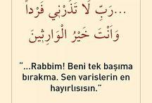 Kuran-ı Kerim'den Dualar