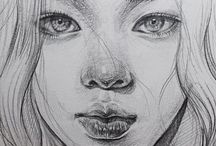 Esboço a lápis