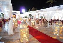 Décoration de mariage marocain / Idées et inspirations pour la décoration de votre mariage