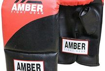 Boxing Bag Gloves / You will not find better quality at a better price than with Amber Sporting Goods.