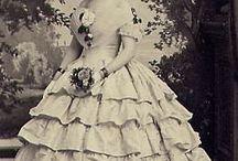 Suknie XIX wiek 1850-1869