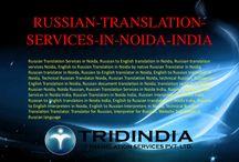 Russian Translation Services in Noida-Delhi-NCR